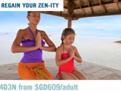 Regain Your Zen-ity: 4D3N from SGD609/adult at Club Med Bali