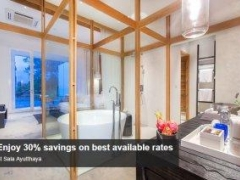 Enjoy 30% savings on best available rates at Sala Ayutthaya with American Express Card