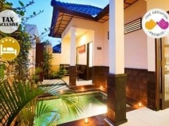 Gili Trawangan: 3D2N Two Pax 4-Star Black Penny Villas Private Pool Villa Stay w/ Breakfast