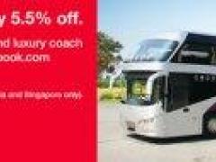 Exclusive privileges via easybook.com. Travel light: enjoy 5.5% off