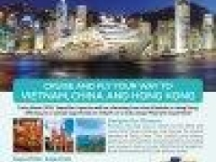Star Cruises: Cruise and Fly Your Way To Vietnam, China and HongKong from $1,068* per person