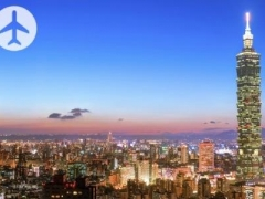 Taipei: $288 per pax for 2 Way EVA Air Flight to Taipei with Check-In Baggage (Worth $608)