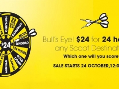 $24 for 24 Hours to any Scoot Destination!