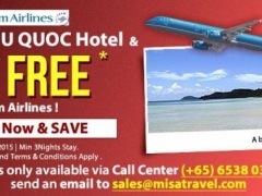 Book Phu Quoc Hotel & Fly FREE* on Vietnam Airlines!