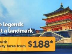 Fly to Xi'an from $188 and Enjoy Exclusive Hotel Deals