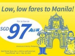 Fly to Manila for as low as SGD 97!