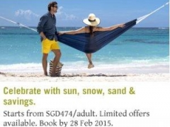 Festive Holiday Special - 4D3N from SGD474 /adult