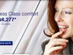 To Europe from Singapore Business Class fares from S$6,277*