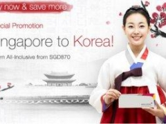 Special Promotion: Singapore to Korea! Return All-Inclusive from SGD 870