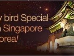 Early bird Special from Singapore to Korea! Return All-Inclusive from SGD790