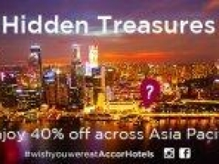 Discover the Hidden Treasures across Asia Pacific with 40% off your stay!