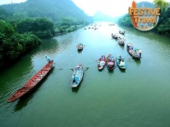 4D3N stay at Hanoi City Palace Hotel with 1N aboard V'Spirit Cruise, Transfers, Visit to Sung Sot Cave
