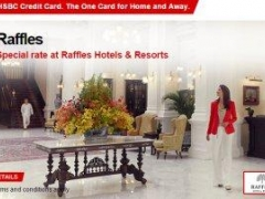 25% off Rise & Shine Package with minimum 2 consecutive nights stay at Raffles Singapore