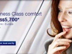 Fly in Business Class Comfort with Lufthansa from S$5,700*