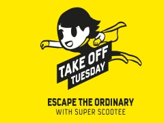 Escape the Ordinary and Scoot from SGD45 this Tuesday from 7am-2pm