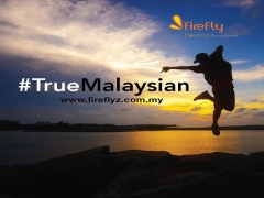 WIN Return Tickets to Malaysia with Firefly Airlines' #TrueMalaysianVideo