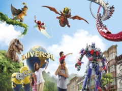 Mastercard® Exclusive: Universal Studios Singapore 2 Adult One-Day Tickets at S$134