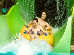 Mastercard® Exclusive: Adventure Cove Waterpark Adult One-Day Tickets at S$28 (Min. 2 to go)
