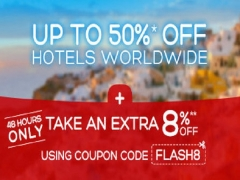 48 Hour Sale | Up to 50% Off Hotels Worldwide with Hotels.com