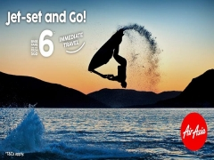 Jet-Set and Go with AirAsia Immediate Travel Offers from SGD6