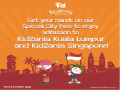 Special City Pass Between KidZania Kuala Lumpur and Singapore
