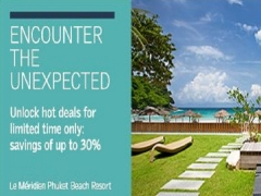 Seven Days, Super Savings in Asia Pacific with Le Meridien Hotels & Resorts