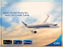 Explore More Destinations with Singapore Airlines and Citibank
