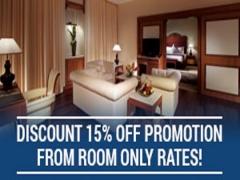 Enjoy 15% Off Room Only Rates in Royal Chulan Kuala Lumpur