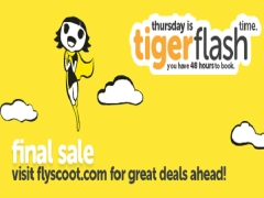 LAST TigerFlash Sale | Fly to Your Favourite Destinations with Tigerair from SGD38