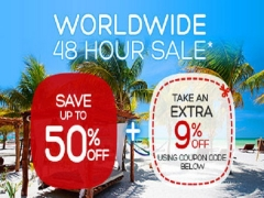 48 Hours Worldwide Sale in Hotels.com with Up to 59% Savings