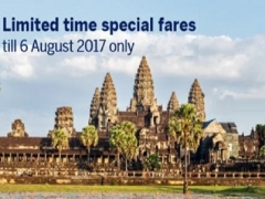 SilkAir Special Fares with American Express® and Travel Revolution 2017