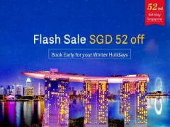 FLASH SALE |Enjoy SGD52 Off Air China Flights to USA and Canada