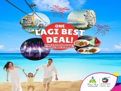 One Lagi Best Deal in Singapore Cable Car with Attractions Bundle from SGD52