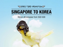 Early Bird Deal from Singapore to Korea with Asiana Airlines