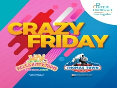 Get 2 x Two Park Pass at only RM130 in Puteri Harbour Playtime Zone