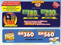 Enjoy Unlimited Entries to Sunway Lagoon from RM560