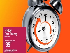 Weekend Fare Frenzy from SGD39 with Jetstar!
