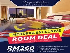 Merdeka Deal in Royale Chulan Bukit Bintang from RM260