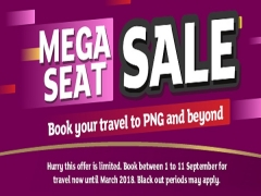 September Mega Seat Sale to your Favourite Destinations with Air Niugini