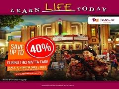 MATTA Fair Savings for KidZania Kuala Lumpur