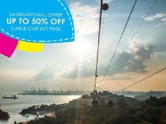 Sandsational Offer with Up to 50% Off Singapore Cable Car Sky Pass