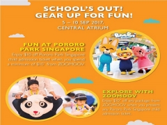 School's Out September Offer in Pororo Park Singapore