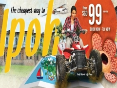 Fly to Ipoh from SGD99 with Firefly Airlines