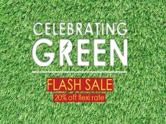 FLASH SALE | Stay Green in Furama City Centre Singapore at 20% Off