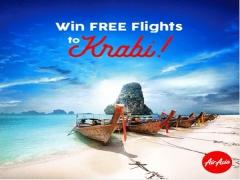 WIN Flights to Krabi from AirAsia