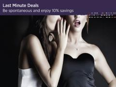 Be Spontaneous and Enjoy 10% Savings in Carlton Singapore