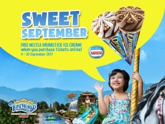 Book your Sunway Lost World of Tambun Ticket and Enjoy Complimentary Ice Cream