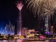 2018 New Year Celebration in Fairmont Hotel Singapore