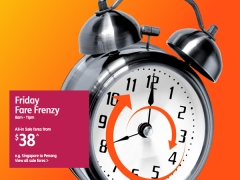 Weekend Fare Frenzy from SGD38 with Jetstar!