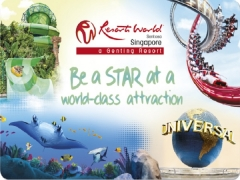 Awesome Promotion in Resorts World Sentosa with SG52 Promotion